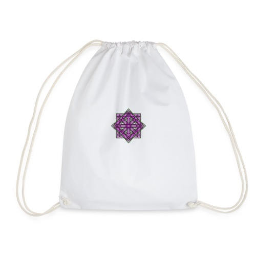 geometronology - Drawstring Bag