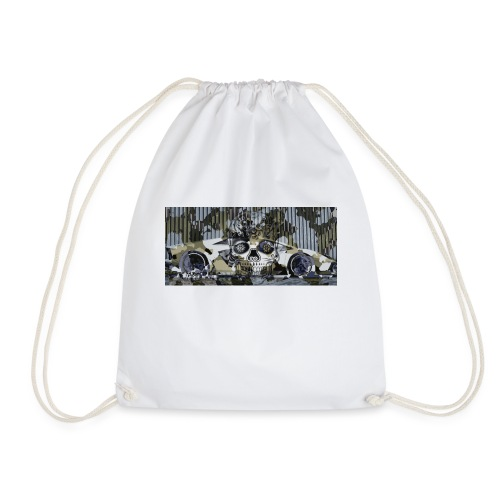 calavera style - Drawstring Bag