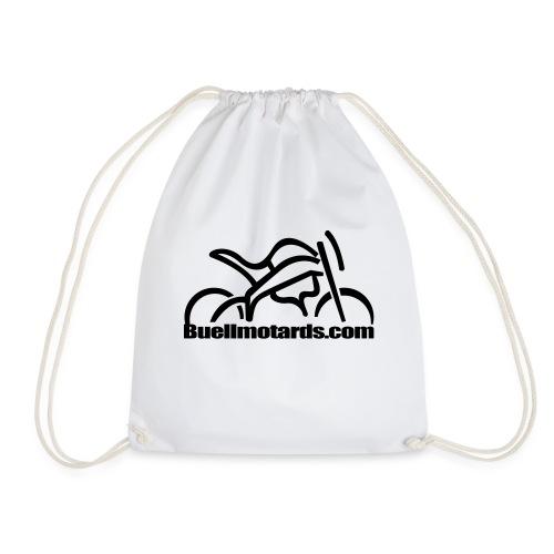 logo buellmotards black - Mochila saco