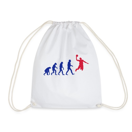 Basketball evolution logo - Sac de sport léger