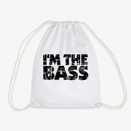 I'm the Bass Vintage Black - Turnbeutel
