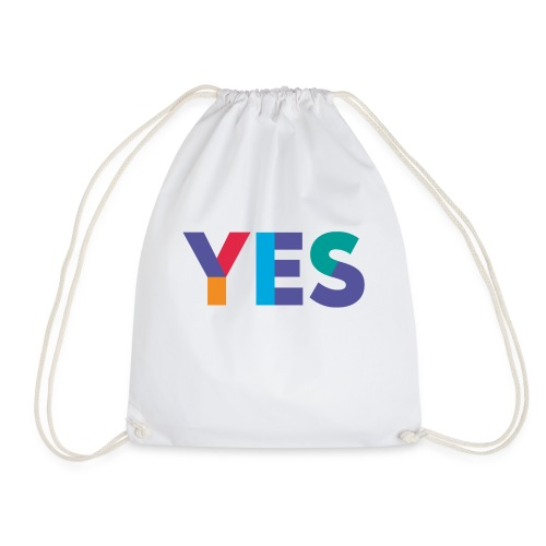 YES Scotland Logo Shirt - Drawstring Bag