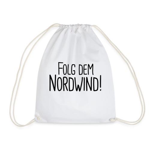 Folg dem Nordwind! - Turnbeutel