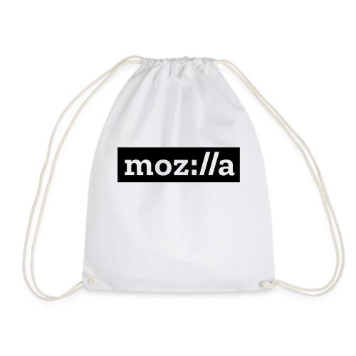 mozilla logo - Drawstring Bag
