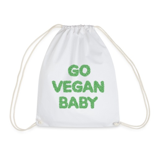 go vegan baby - Sportstaske