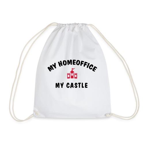MY HOMEOFFICE MY CASTLE - Turnbeutel