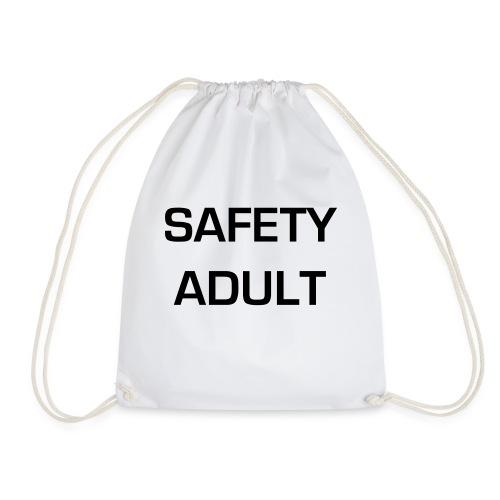 Safety Adult - Drawstring Bag