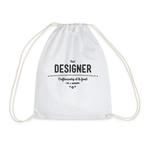 Bester Designer - Handwerkskunst vom Feinsten, wie - Turnbeutel