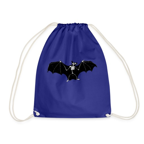 Bat skeleton #1 - Drawstring Bag