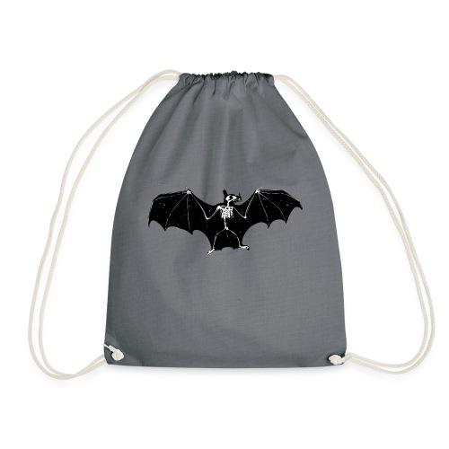 Bat skeleton #1 - Drawstring Bag
