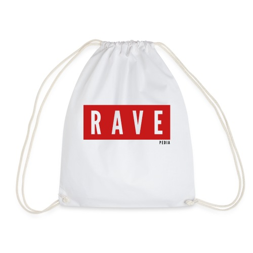 Rave Shirt für Festivals, Raver, Electro Festivals - Turnbeutel