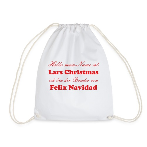 Felice Navidad Christmas - Turnbeutel