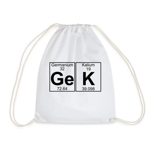 Ge-K (gek) - Full - Drawstring Bag