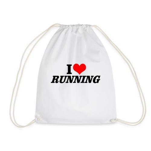 I love running - Turnbeutel
