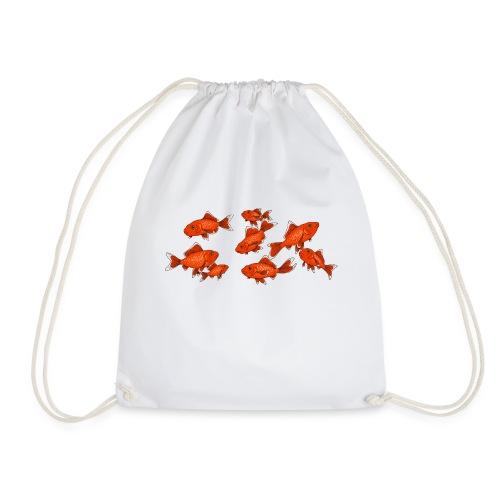 Les petits poissons rouges - Sac de sport léger