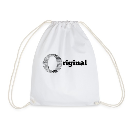 original grey - Drawstring Bag