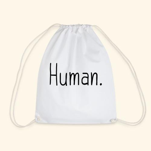 Mensch Human Menschenrecht Human-Rights - Turnbeutel