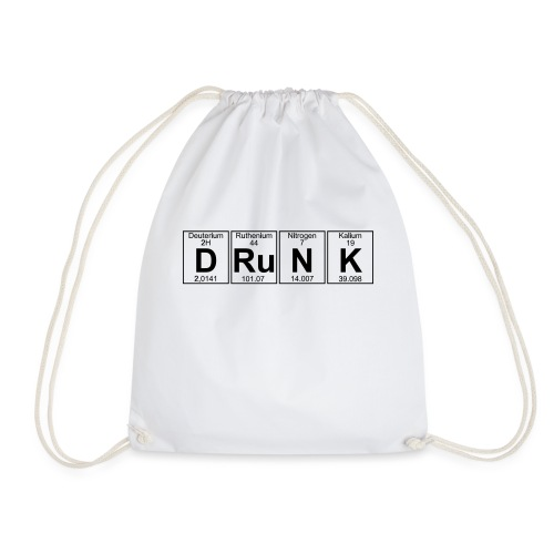 D-Ru-N-K (drunk) - Drawstring Bag
