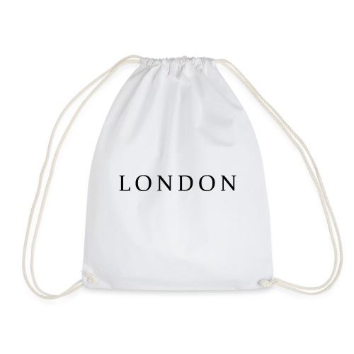 London, London City, London Fashion, London Fashion - Drawstring Bag