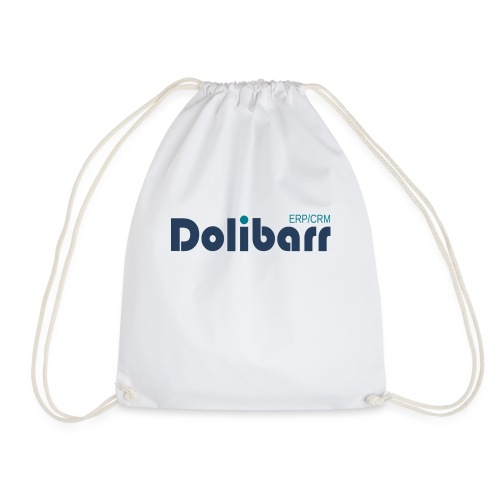 Dolibarr Logo new blue - Drawstring Bag