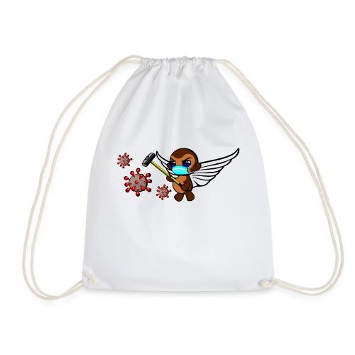 covidmonkey - Drawstring Bag