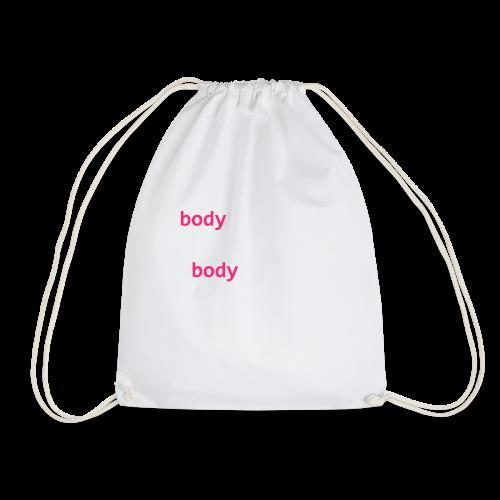 hello-world-png - Drawstring Bag