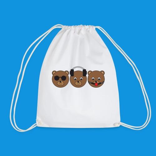 3 Wise Bears - Drawstring Bag