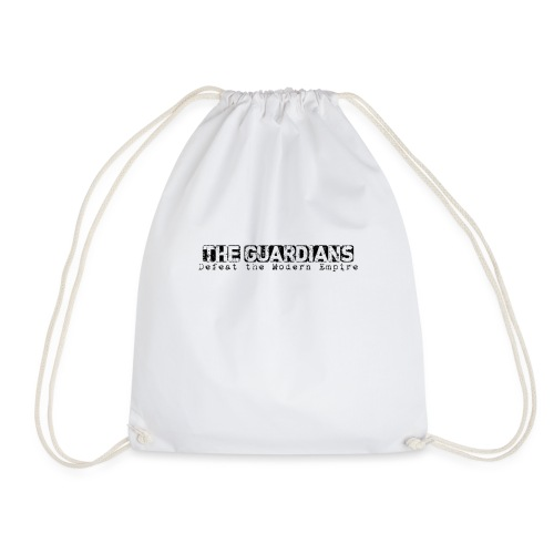 The Guardains Black - Drawstring Bag
