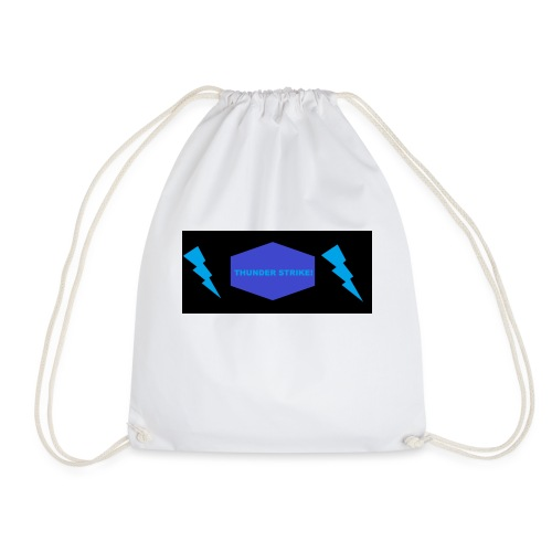 Thunder strike yt - Drawstring Bag