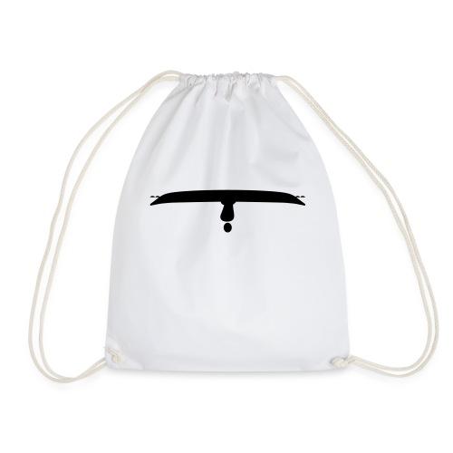 Upside down kayak - Drawstring Bag