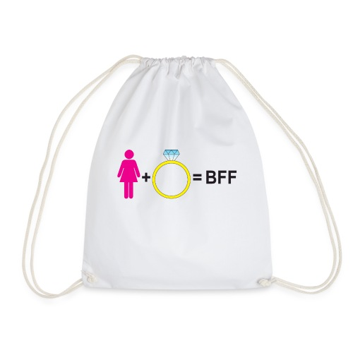Frau Ring BFF - Turnbeutel