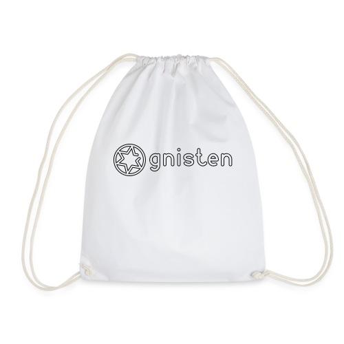 Gnisten Ry (sort tryk - horisontal) - Sportstaske
