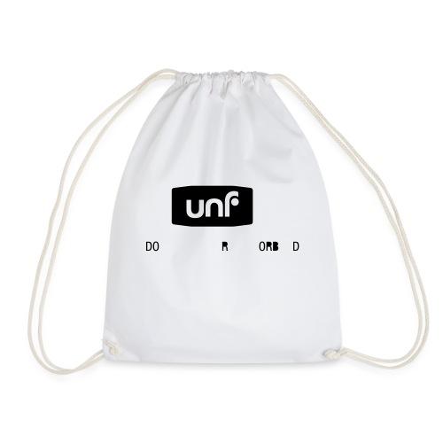 UNF_svartvit-eps - Gymnastikpåse
