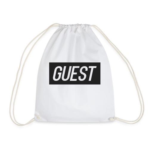 G-rectangle (grey) - Drawstring Bag