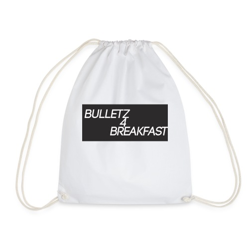 bulletz4breakfast_t-shirt - Drawstring Bag