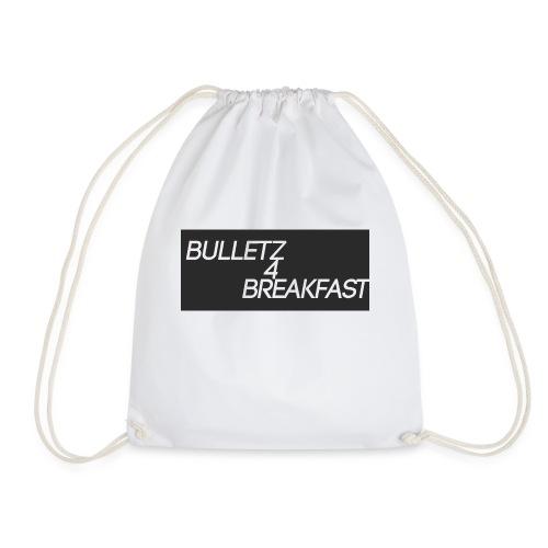 bulletz4breakfast_t-shirt - Drawstring Bag