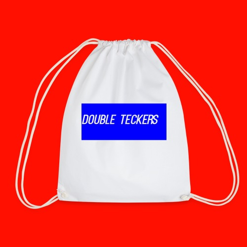 Double Teckers Black top - Drawstring Bag