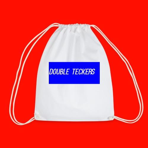 Double Teckers Black top - Drawstring Bag