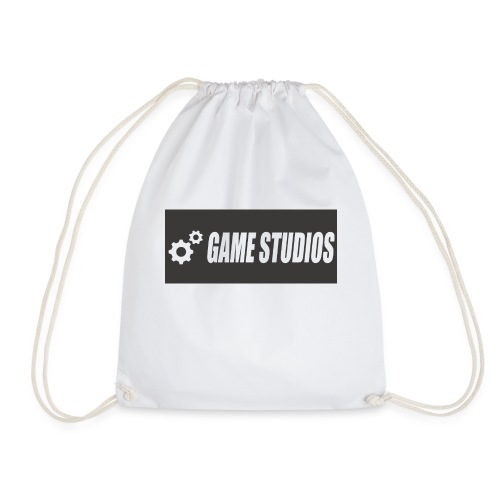 game studio logo - Drawstring Bag