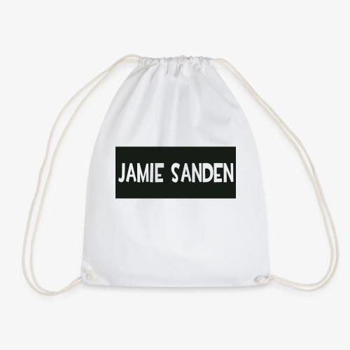 Jamie Sanden Text logo - Gymnastikpåse