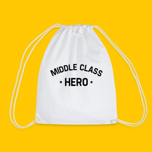 Middle Class Hero - Drawstring Bag