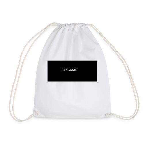 rianGames merch - Drawstring Bag