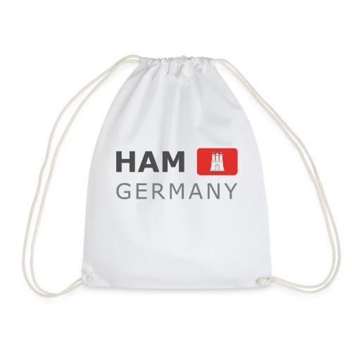 HAM GERMANY HHF dark-lettered 400 dpi - Drawstring Bag