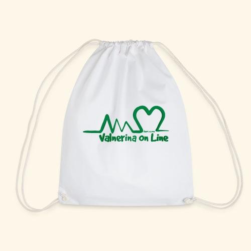 logo verde Associazione Valnerina On line - Sacca sportiva