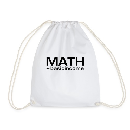 math-black - Gymtas