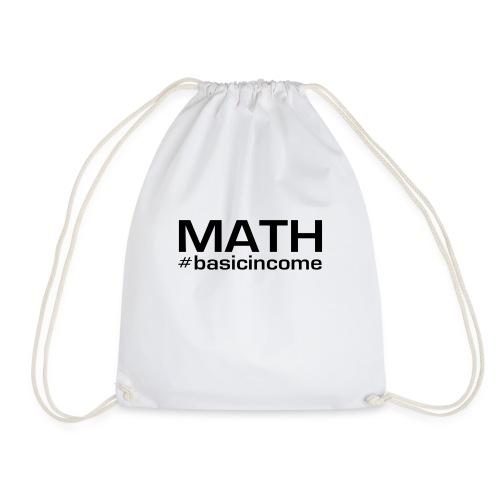 math-black - Gymtas