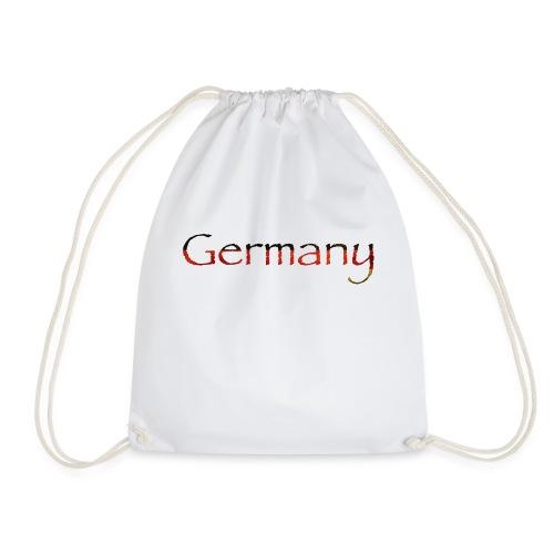 Deutschland Schriftzug Horizontal - Turnbeutel