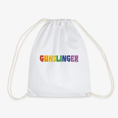 Gunslinger Pride (Rainbow) - Drawstring Bag