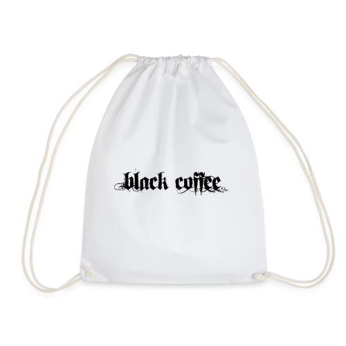 Black Coffee - Mochila saco