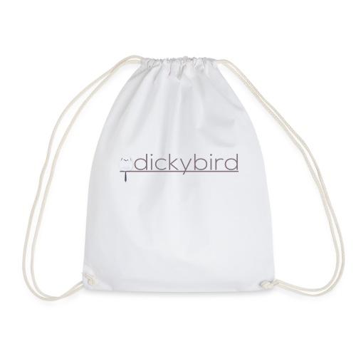 dickybird lille logo fugl på linie før navn - Sportstaske
